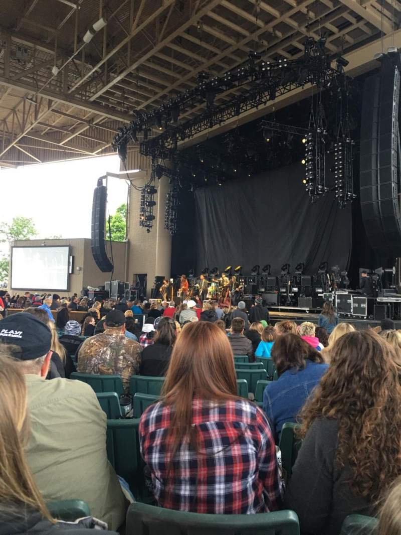 Seating view for Klipsch Music Center Section C Row AA Seat 21
