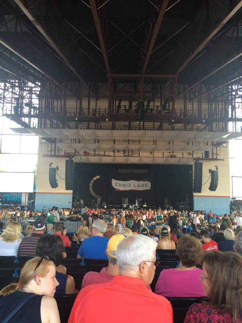 Seating view for Riverbend Music Center Section 800 Row OO Seat 822