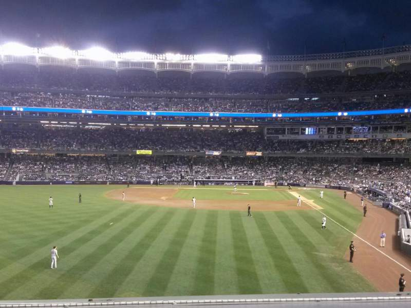 Seating view for Yankee Stadium Section 234 Row 1 Seat 6