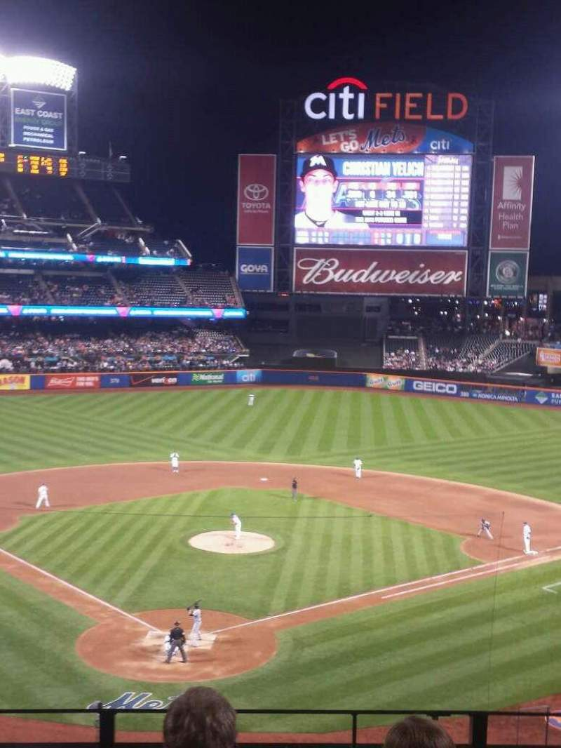 Seating view for Citi Field Section 318 Row 4 Seat 6