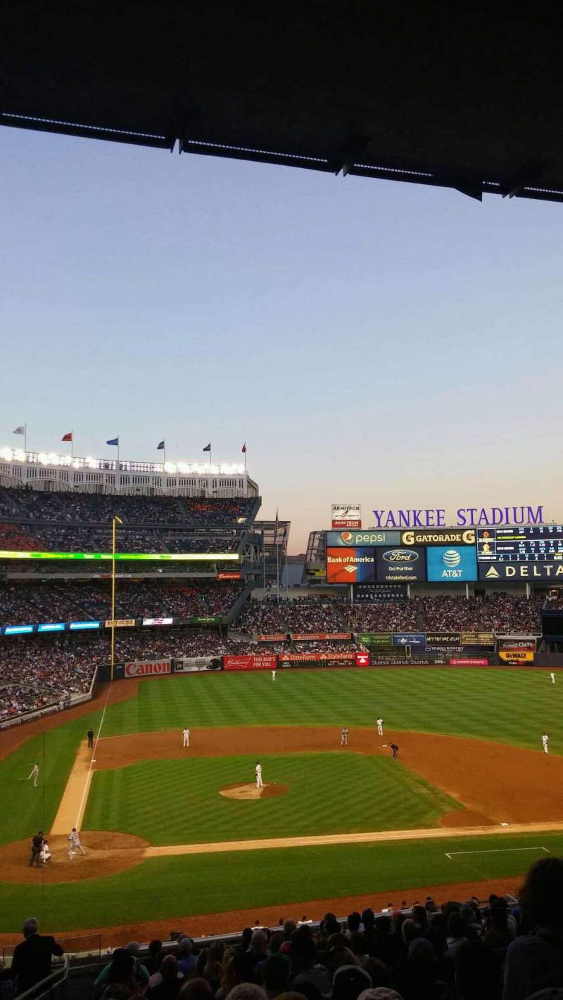 Seating view for Yankee Stadium Section 217  Row 18 Seat 21
