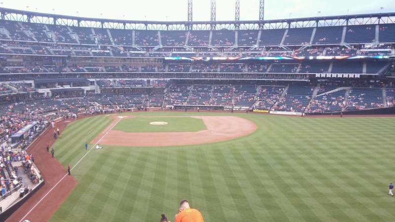 Seating view for Citi Field Section 302 Row 11 Seat 13