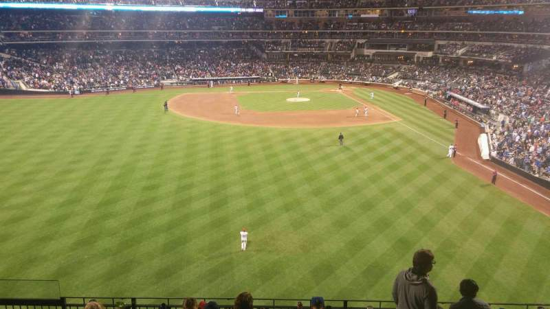 Seating view for Citi Field Section 335 Row 8 Seat 16