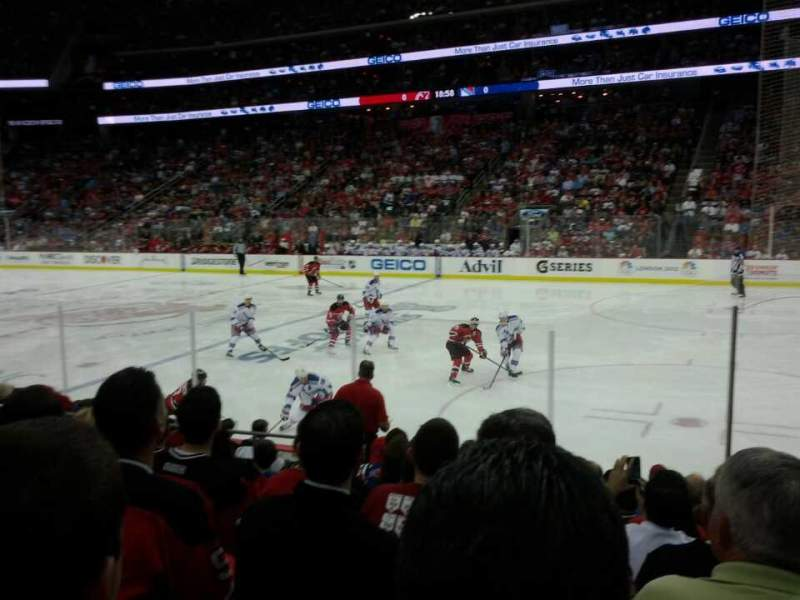 Seating view for Prudential Center Section 21 Row 7 Seat 7
