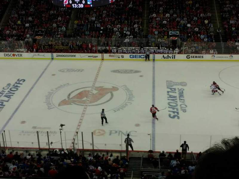 Seating view for Prudential Center Section 129 Row 2 Seat 2