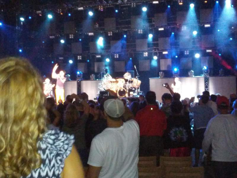 Seating view for Jones Beach Theater Section 9R Row S Seat 1