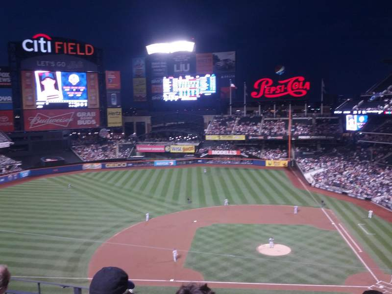 Seating view for Citi Field Section 421 Row 2 Seat 1