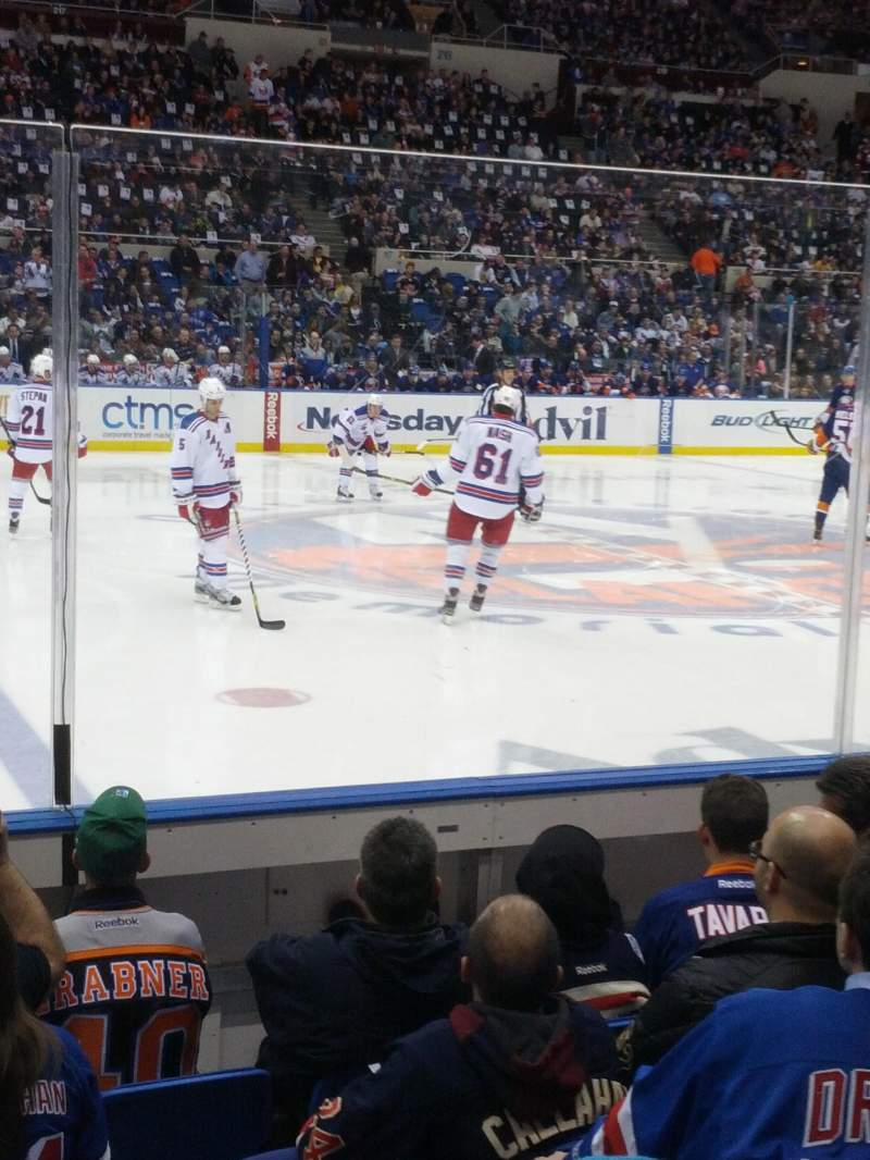 Seating view for Nassau Veterans Memorial Coliseum Section 103 Row 4 Seat 4