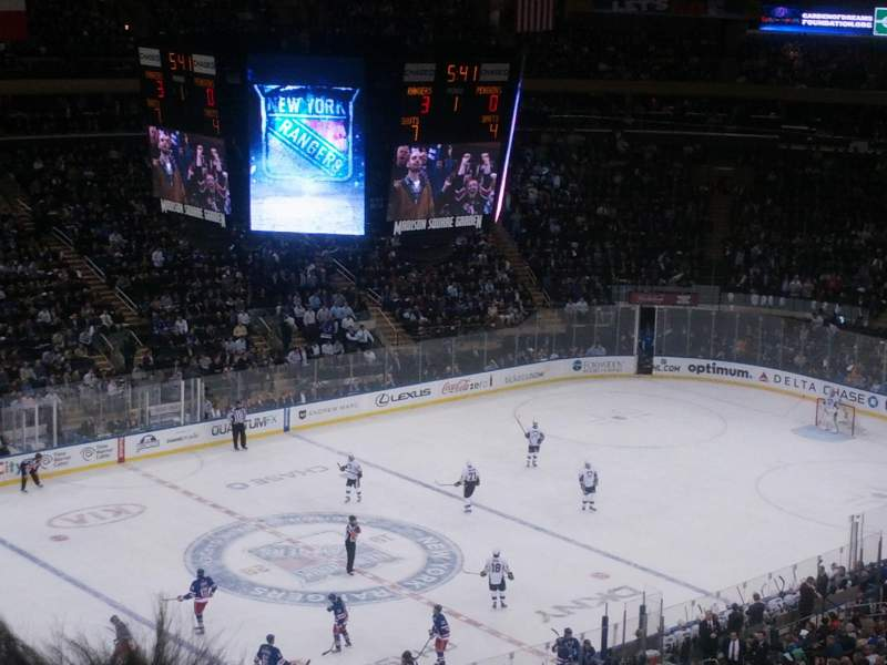 Seating view for Madison Square Garden Section 210 Row 15 Seat 15