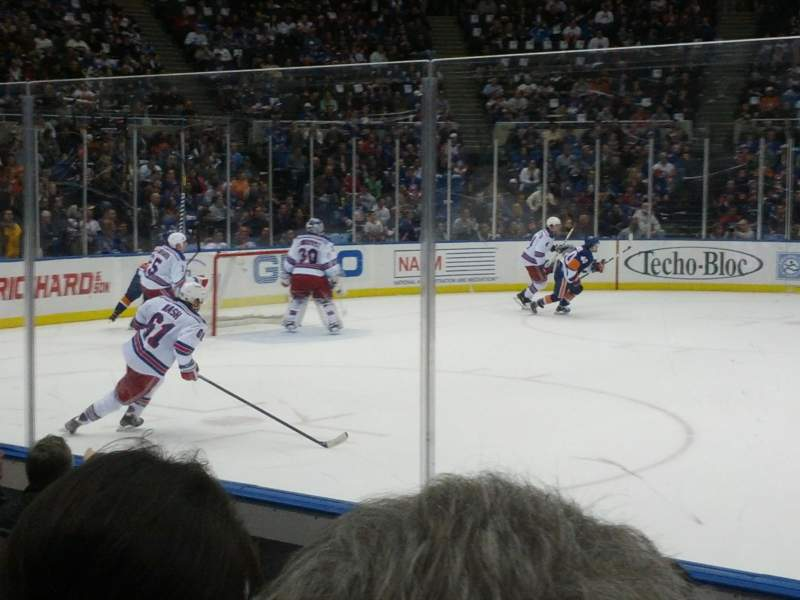 Seating view for Old Nassau Veterans Memorial Coliseum Section 103 Row 4 Seat 10