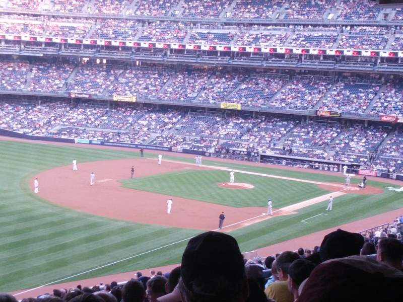 Seating view for Yankee Stadium Section 228 Row 20 Seat 2