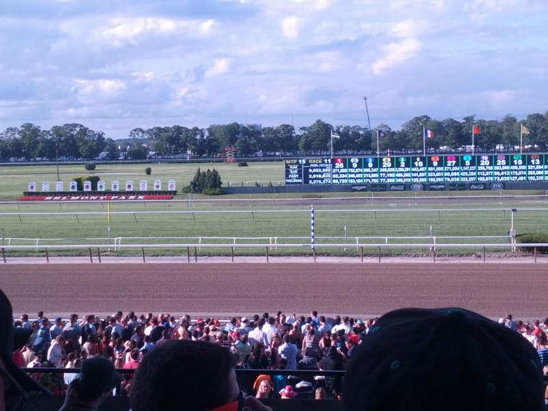 Seating view for Belmont Park Section 2P Row C Seat 13