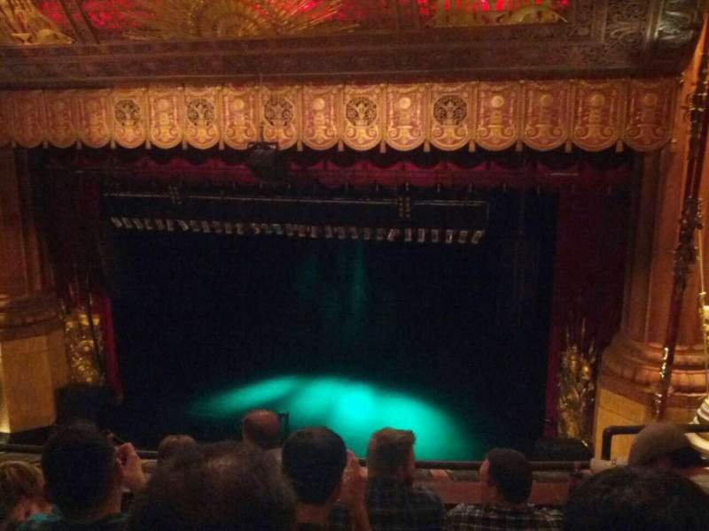 Seating view for Beacon Theatre Section Balcony 2 Row D Seat 4