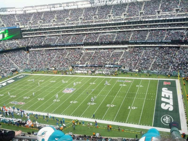 Seating view for MetLife Stadium Section 335 Row 4 Seat 10