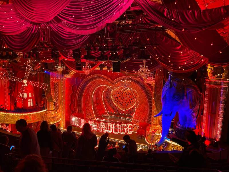 Seating view for Al Hirschfeld Theatre Section Mezzanine R Row K Seat 14