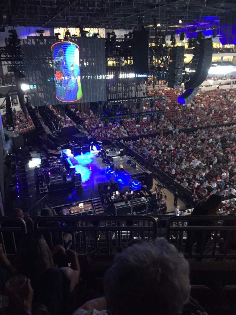 Intrust Bank Arena, section: 219, row: H, seat: 3