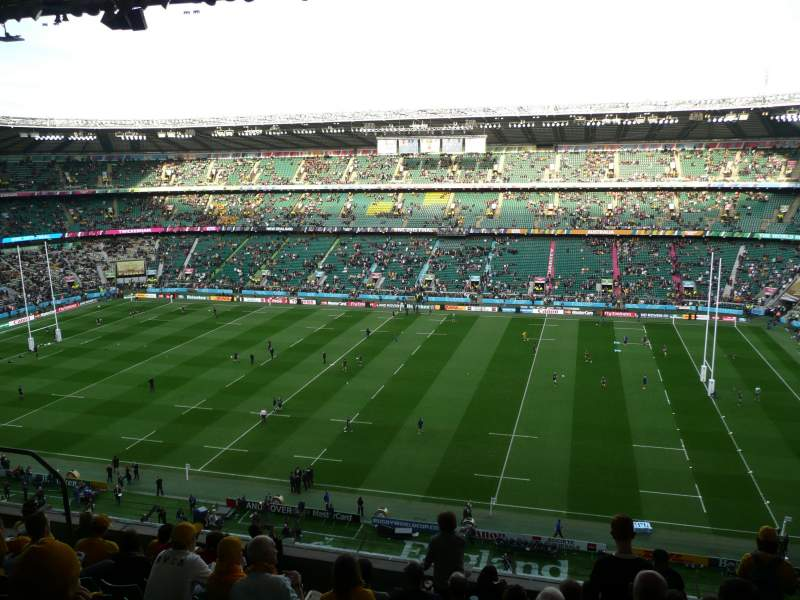 Seating view for TWICKENHAM STADIUM Section U4 Row K Seat 102