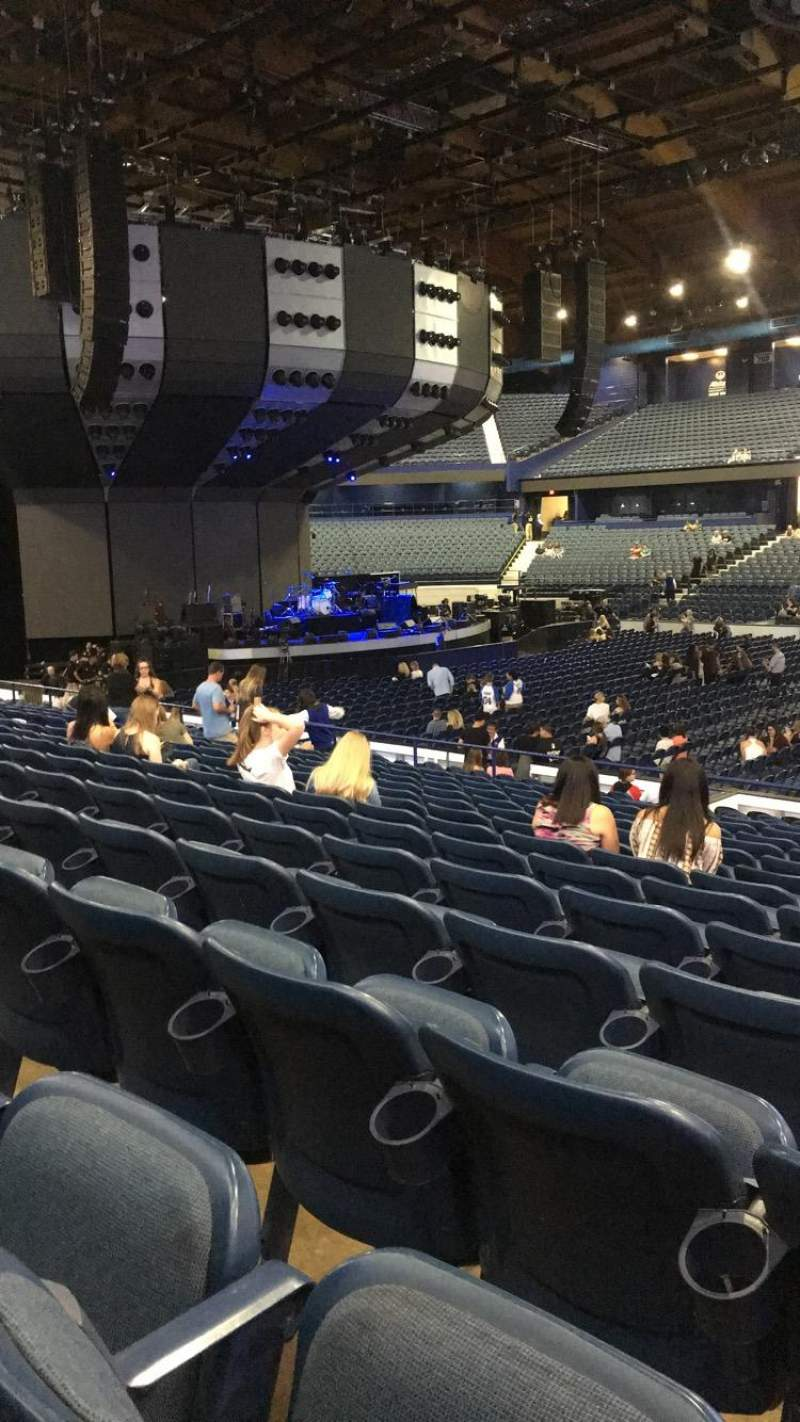 Seating view for Allstate Arena Section 102 Row N Seat 5