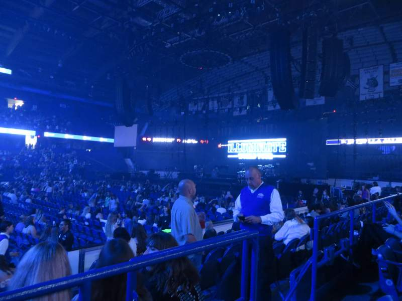 Allstate Arena, section: 111, row: B, seat: 4