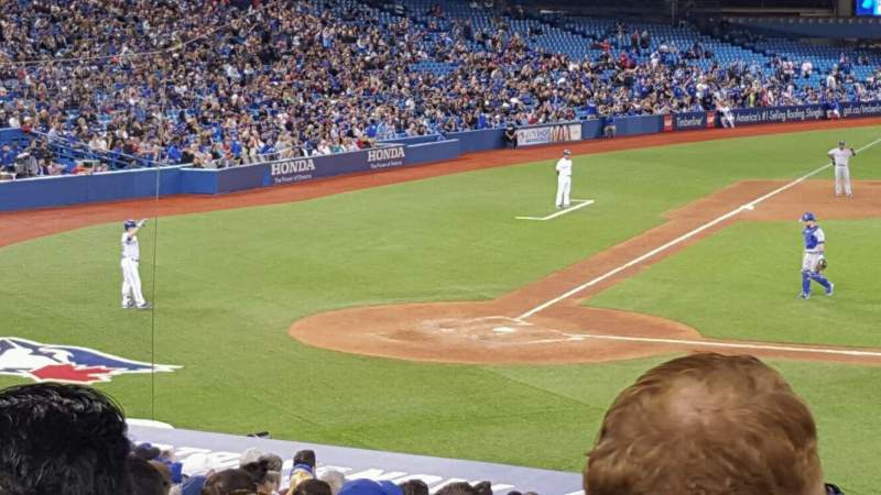 Seating view for Rogers Centre Section 118 Row 30 Seat 10