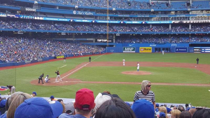 Seating view for Rogers Centre Section 118r Row 30 Seat 9