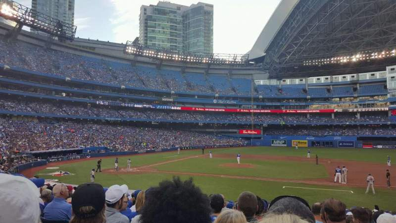 Seating view for Rogers Centre Section 116L Row 24 Seat 110