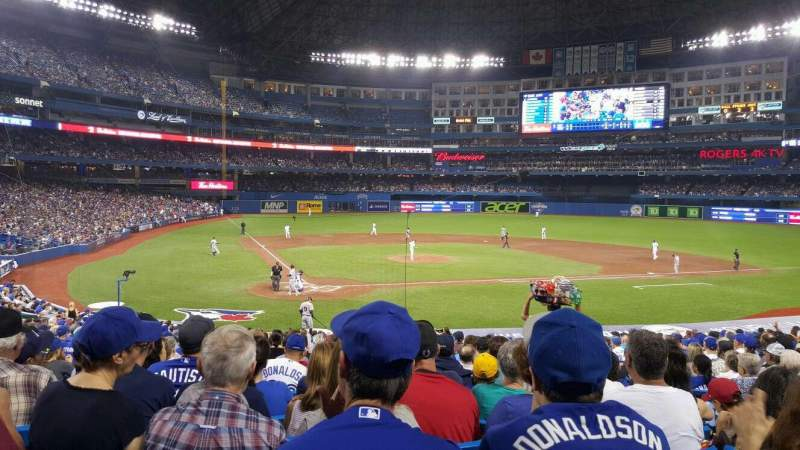 Seating view for Rogers Centre Section 119l Row 30 Seat 106