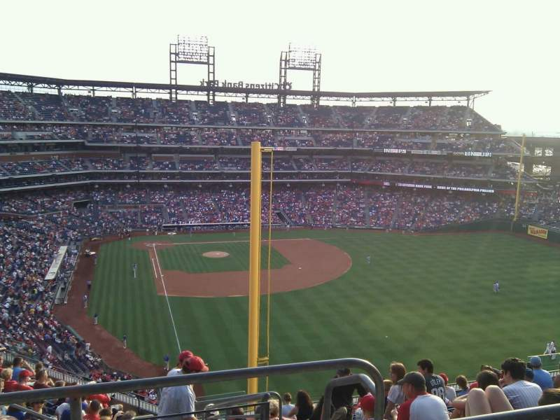Seating view for Citizens Bank Park Section 305 Row 14 Seat 22