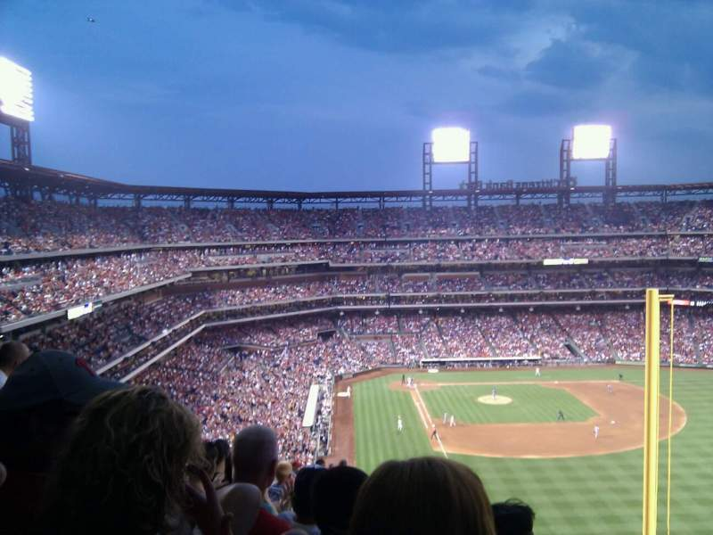 Seating view for Citizens Bank Park Section 306 Row 18 Seat 5