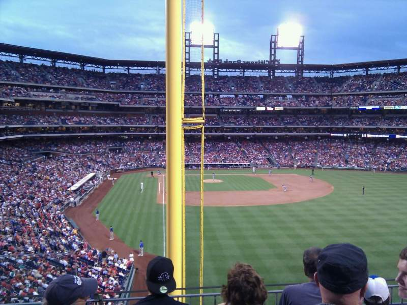 Seating view for Citizens Bank Park Section 205 Row 4 Seat 17