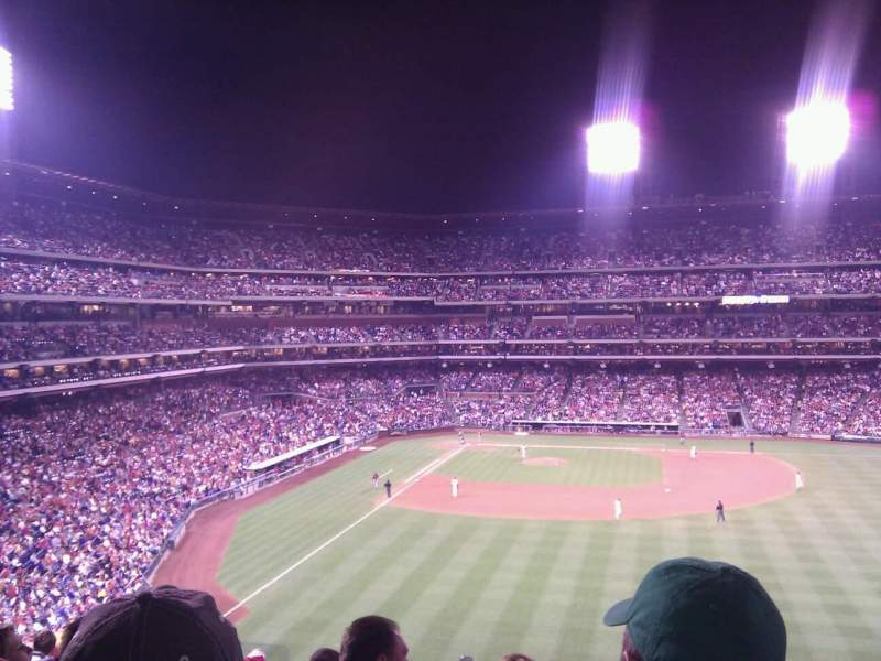 Seating view for Citizens Bank Park Section 203 Row 11 Seat 16