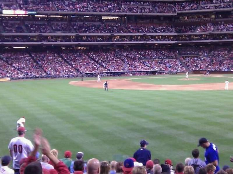 Seating view for Citizens Bank Park Section 147 Row 18 Seat 12
