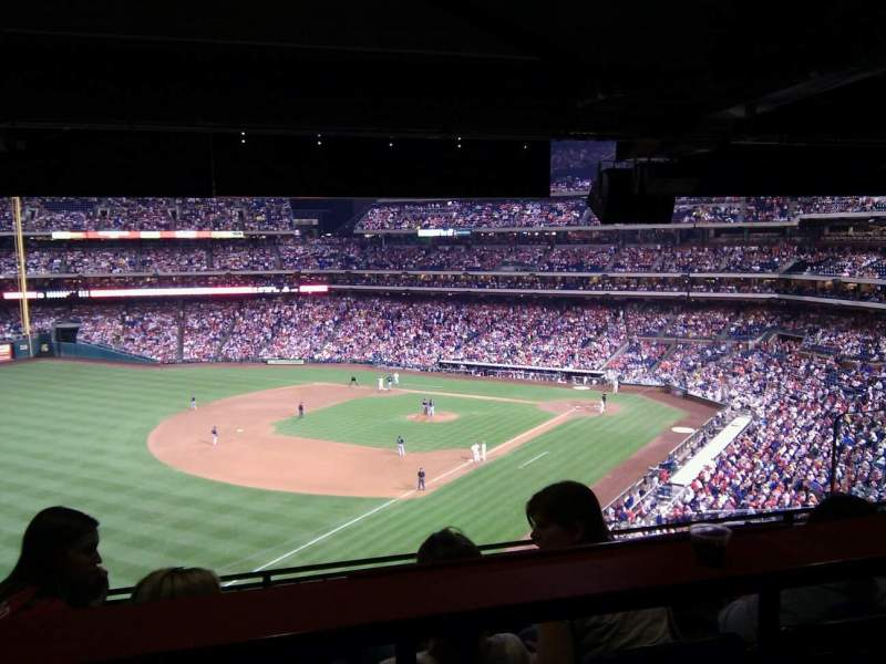 Seating view for Citizens Bank Park Section Suite 8 Row bar Seat 1