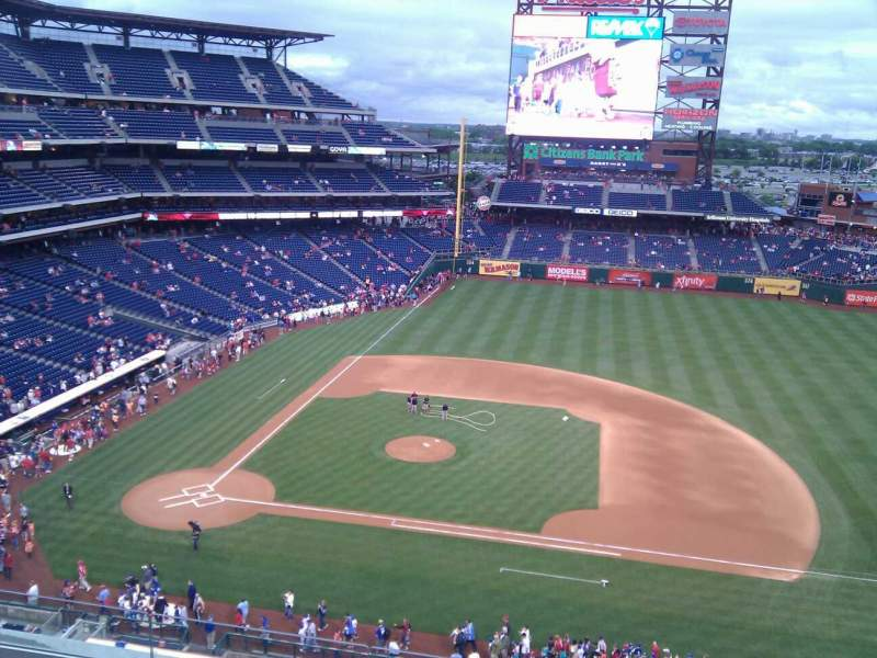 Seating view for Citizens Bank Park Section 315 Row 6 Seat 10
