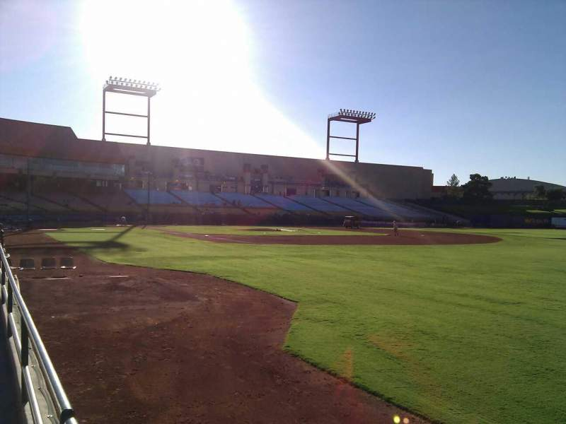 Seating view for Cashman Field Section 22 Row a Seat 2