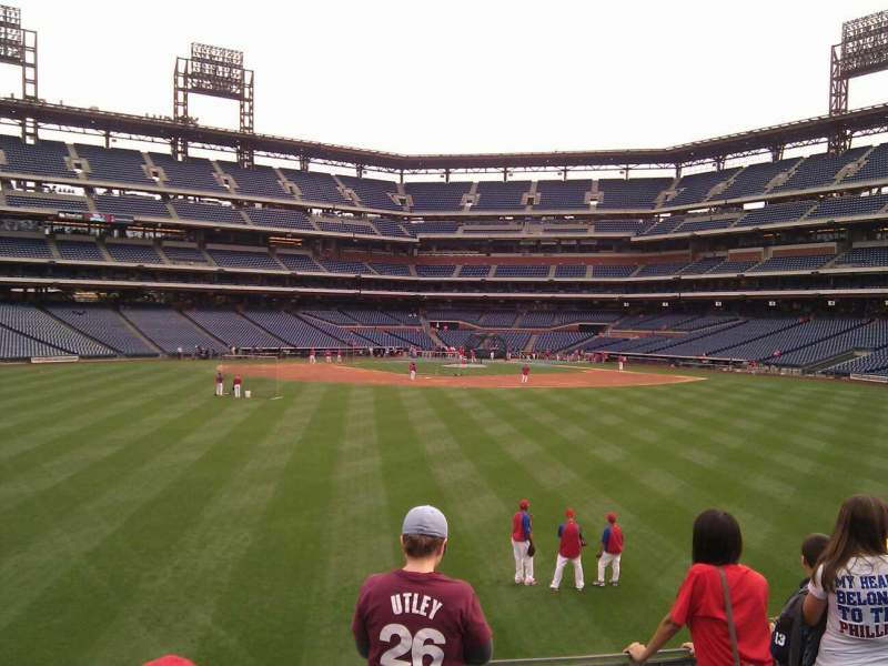Seating view for Citizens Bank Park Section 148 Row 13 Seat 9