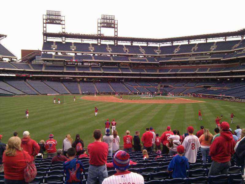 Seating view for Citizens Bank Park Section 145 Row 14 Seat 9