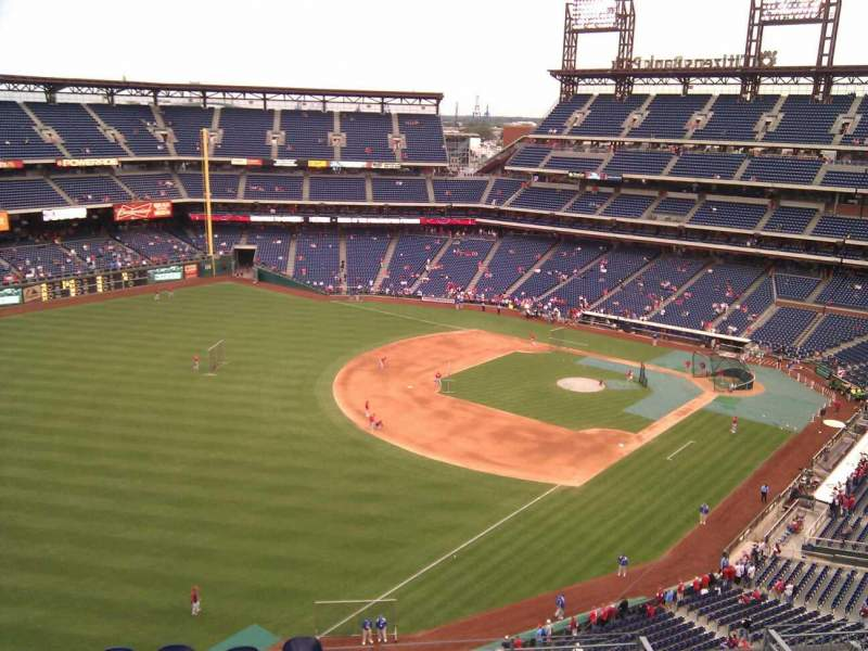 Citizens Bank Park, section: 433, row: 5, seat: 8