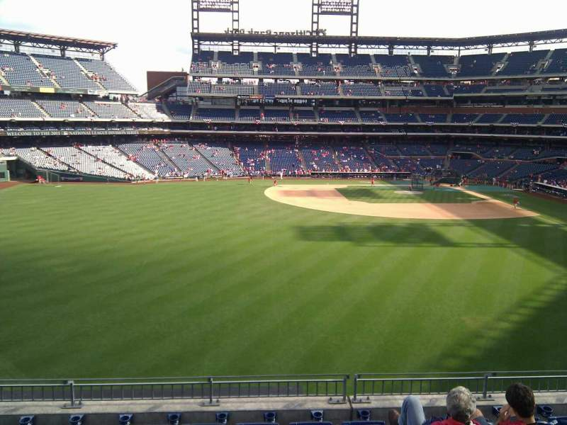 Seating view for Citizens Bank Park Section 244 Row 7 Seat 13