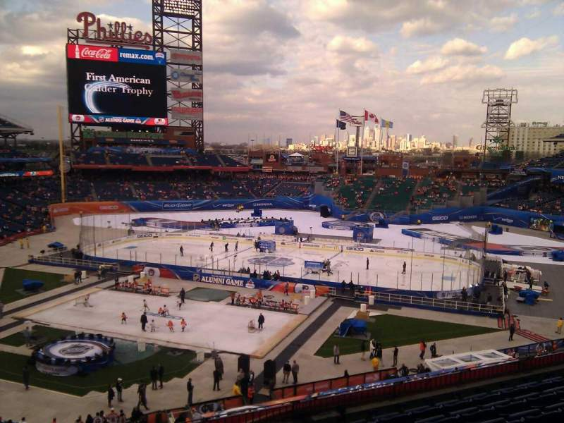 Citizens Bank Park, section: 218, row: 7, seat: 17