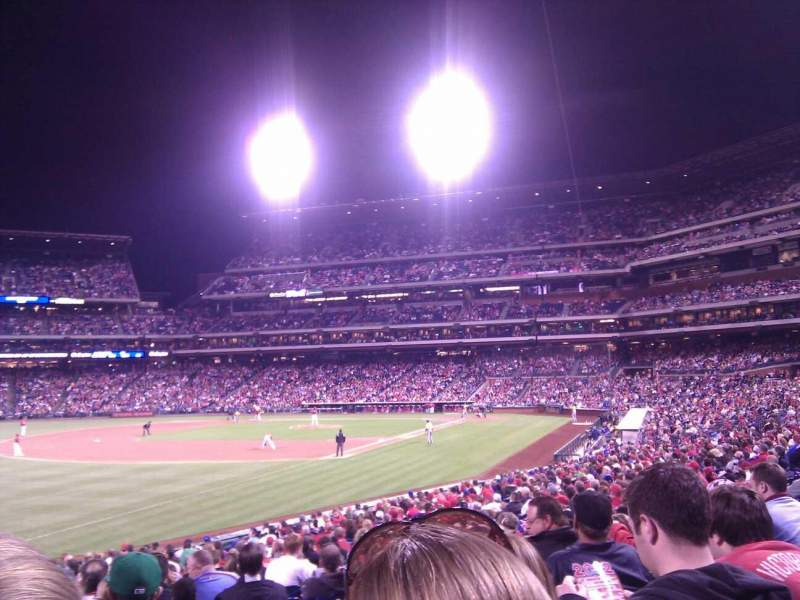 Seating view for Citizens Bank Park Section 137 Row 27 Seat 17