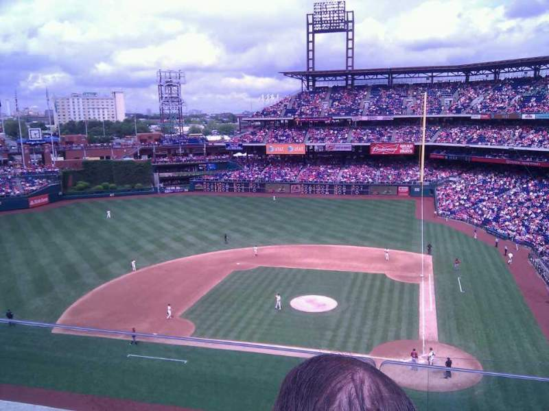 Seating view for Citizens Bank Park Section 324 Row 2 Seat 18