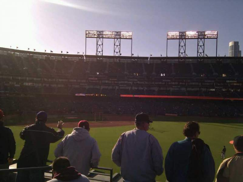 Seating view for AT&T Park Section 146 Row 2