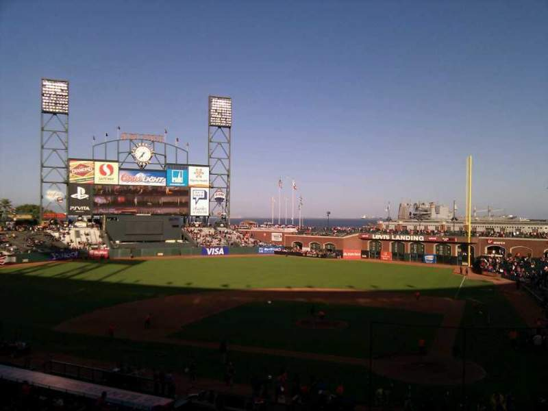Seating view for AT&T Park Section 119 Row d Seat 10