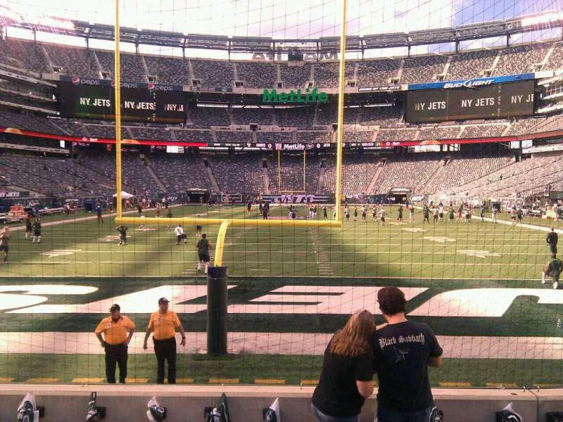 Seating view for MetLife Stadium Section 126 Row 6 Seat 7