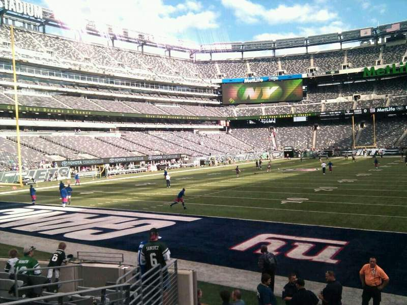 Seating view for MetLife Stadium Section 148 Row 10 Seat 15