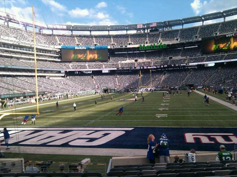 Seating view for MetLife Stadium Section 149 Row 12 Seat 9