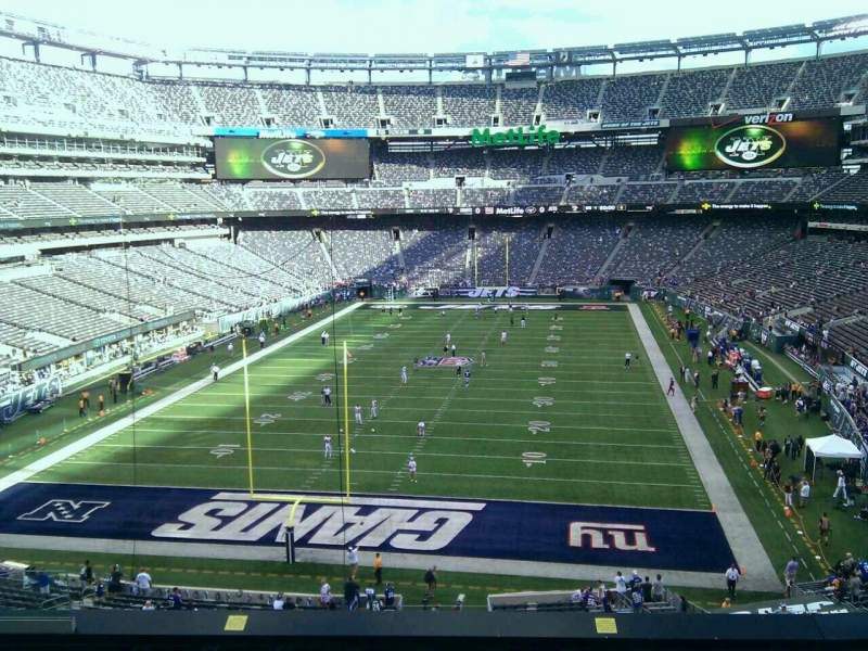Seating view for MetLife Stadium Section 249a Row 7 Seat 17