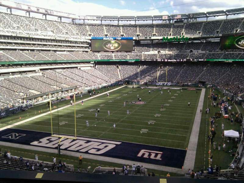 Seating view for MetLife Stadium Section 248 Row 6 Seat 15