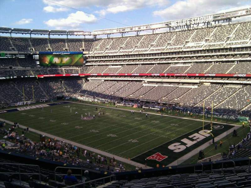Seating view for MetLife Stadium Section 232a Row 15 Seat 10